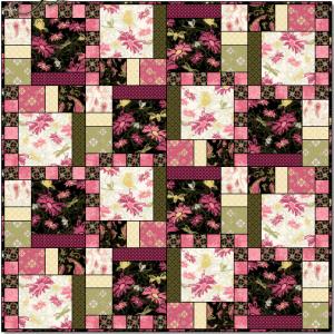 Aubrey Quilt Pattern beautiful colors