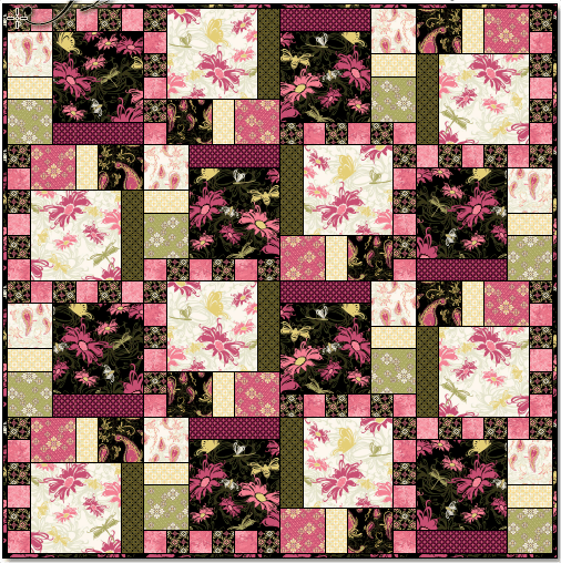 Aubrey Quilt Pattern beautiful colors 2020 5