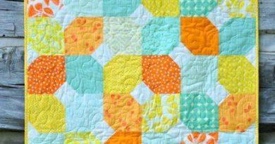 Citrus Mint Baby Quilt 3 436x650 1