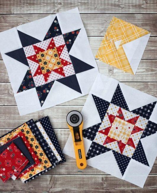 Quilt Block Tutorial – Block 3 531x650 1