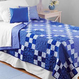 Rhapsody in Blue free pattern - Perfect for 2020