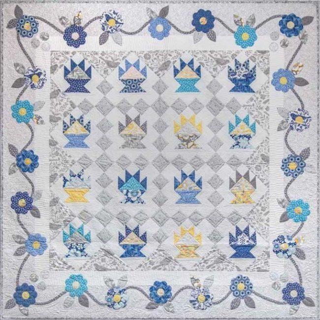cactus quilt flower free pattern 1 650x650 1
