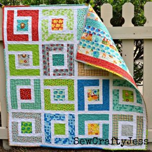 Jungle Patchwork Baby Quilt Free Pattern - Ideas 2020