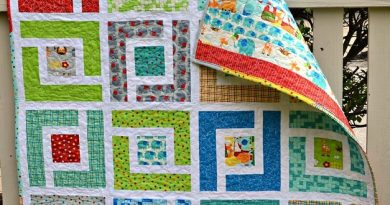 jungle path baby quilt 1