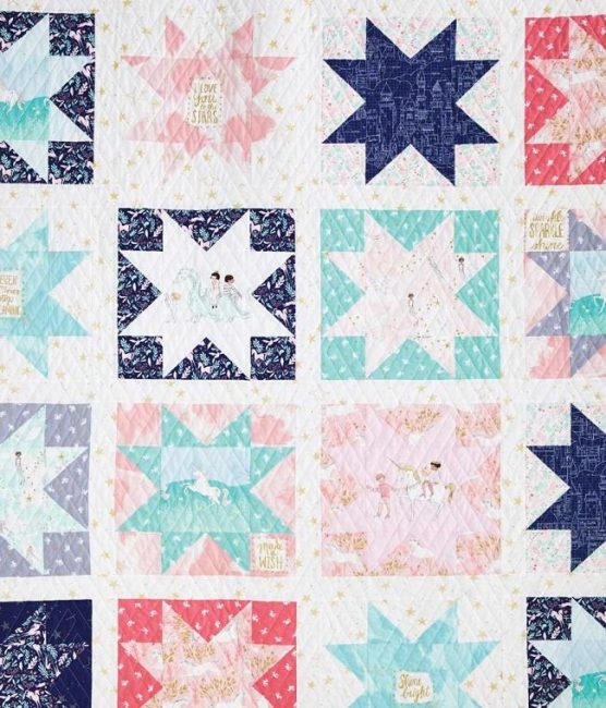 magic star quilt 1