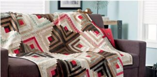 Log Cabin Quilts blocks Free Patterns