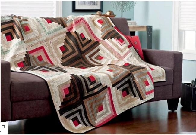 Log Cabin Quilts blocks Free Patterns