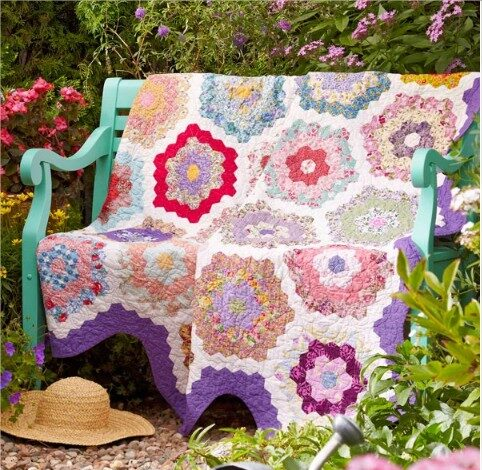 English Garden Free Pattern - Wonderful ideas 2020