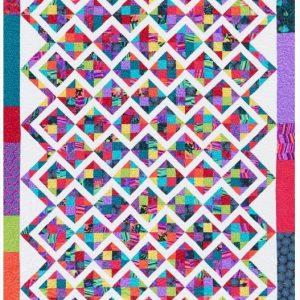 Quilt Scrap Attack Throw Free Pattern - Wonderful ideas 2020