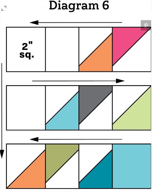 Quilt Scrap Attack Throw Free Pattern