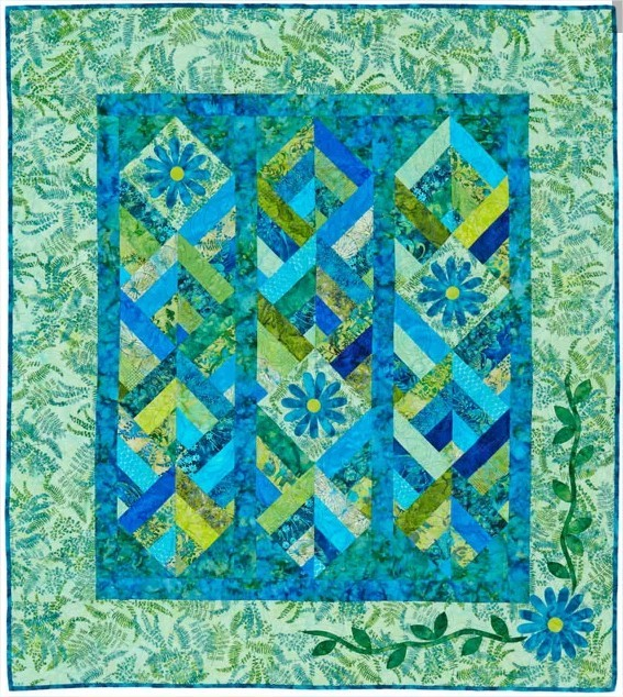 Quilt Split-Rail Summer Free Pattern