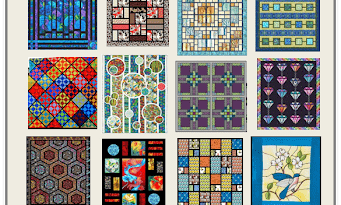 Stained Glass quilts Free pattern Day - Part 01
