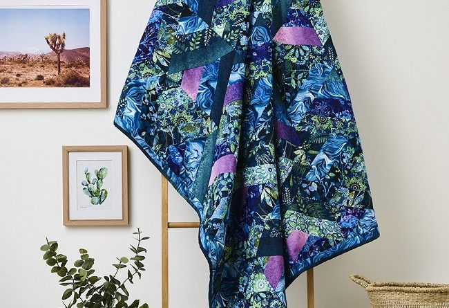 Feathers and Floral Quilt Free Patterns