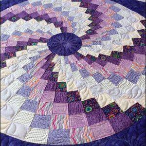 Free Bargello spiral pattern - Idea 2020