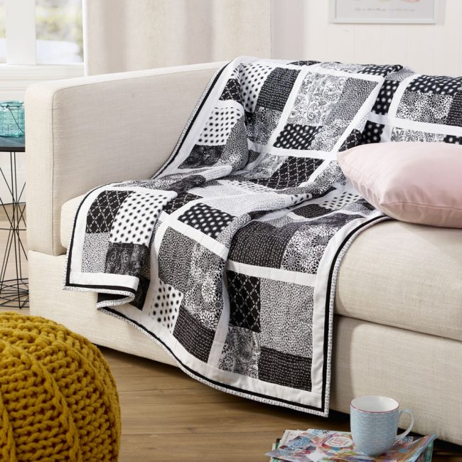 Monotone Square Quilt Free Patterns