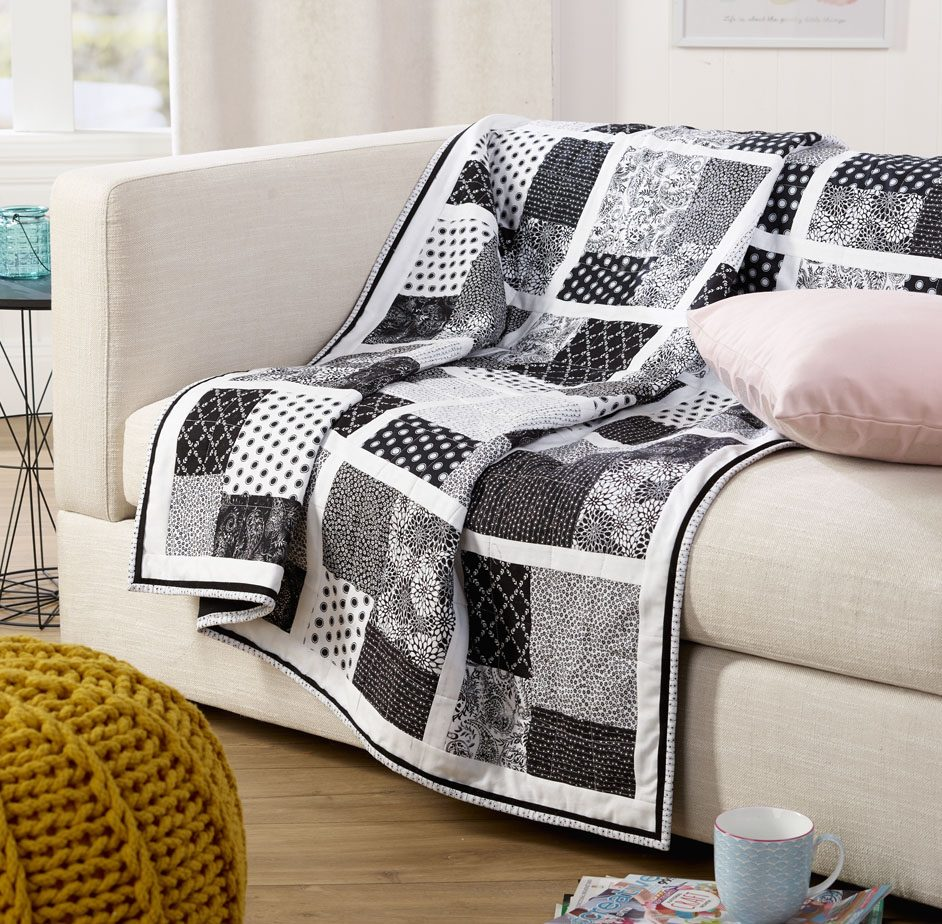 Monotone Square Quilt Free Patterns - Ideas 2020
