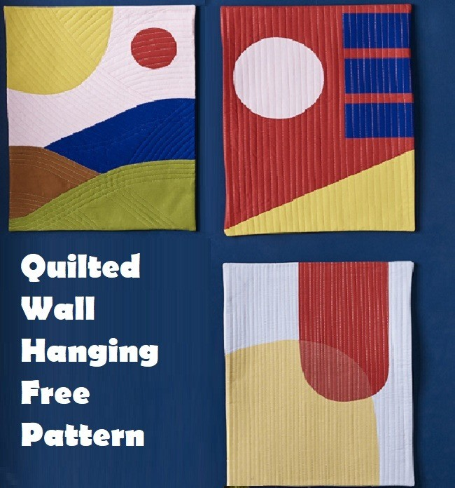 Quilted Wall Hanging Free Pattern