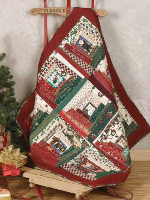 Christmas Crazy Quilt Patterns