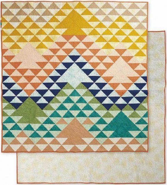 Quilt Pattern Floral Elements