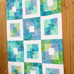 Square in square quilt block Pattern Free 2020 UPDATED