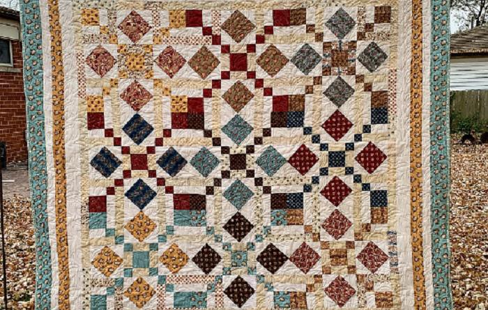 Quilt fancy parlor pattern